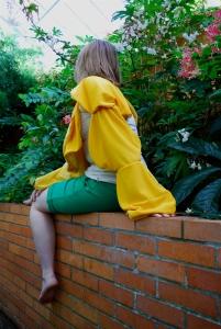 a marigold blouse