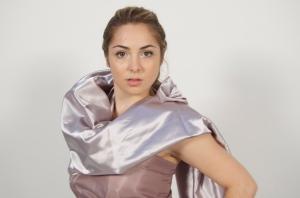 Layers of Draped fabric